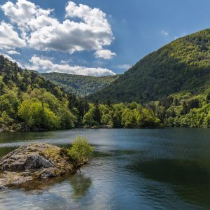 Le lac de Kruth-Wildenstein ©Olympixel